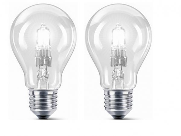 E27 2-pack Halogen normal 46W