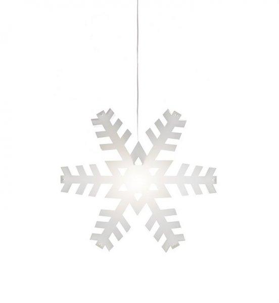 Nygården snöflinga 48cm (Vit)