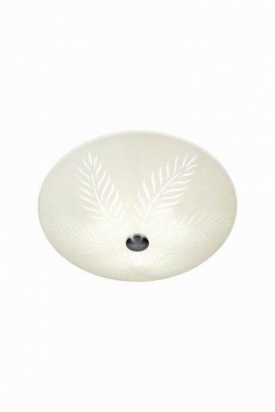 Palmblad plafond 50cm (Vit)