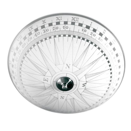 Kompass plafond (Vit)