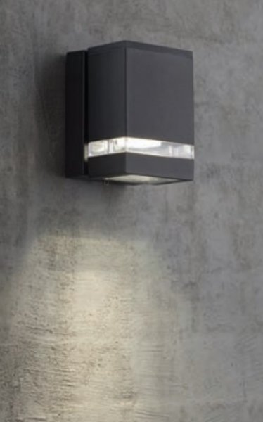 Piute fasadbelysning enkel LED (Svart) thumbnail