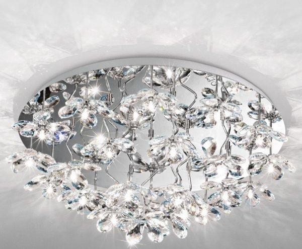 Pontedo kristall 76,5cm (Förkromad/blank)