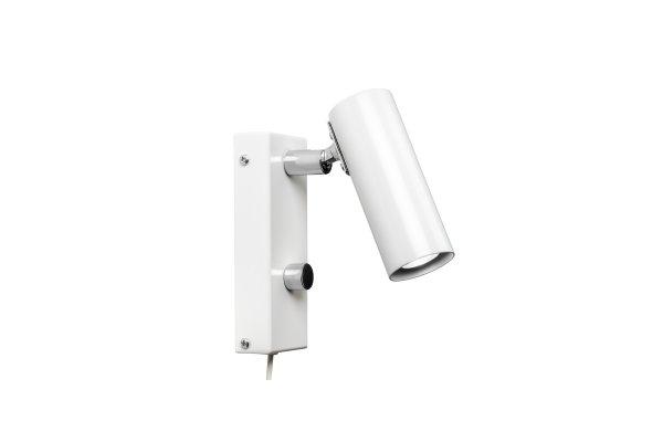 Puck vägglampa enkel dimbar LED (Vit)