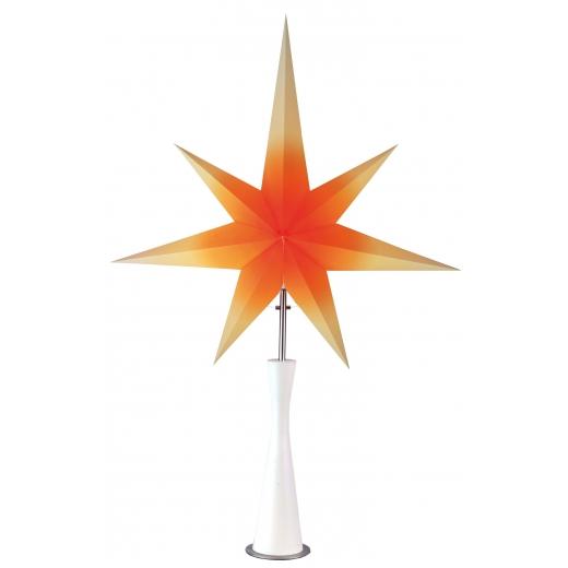 Retro julstjärna (Orange)
