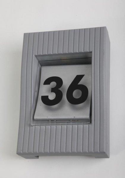 Rom fasad/nummerbelysning (Grå)