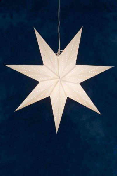 Stjärna 70cm (Vit)