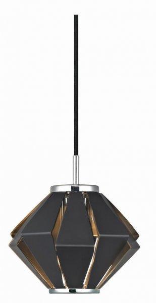 Hornbäck fönsterlampa (Svart)