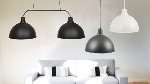 Magnum dubbel taklampa - Produktkyrkogård | Lampgallerian.se