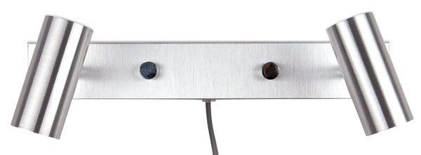 Cato dubbel LED läslampa (Aluminium)