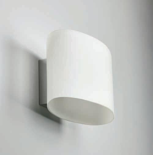 vägglampa som lyser upp och ner