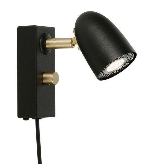 Radiell LED läslampa (Svart)