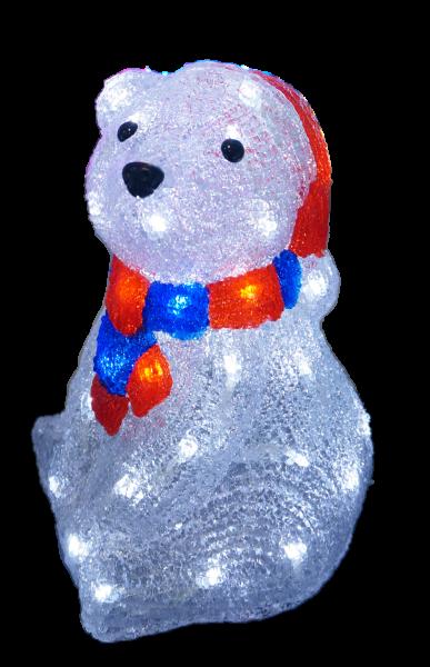 Isbjörn LED akryl 29cm