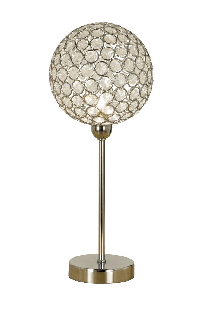 Bling bordlampa (Förkromad/blank)