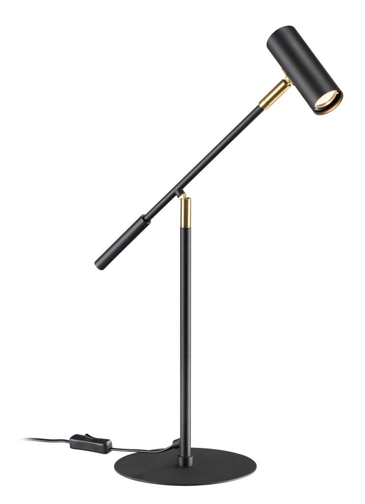 Athena skrivbordslampa ställbar LED (Svart)