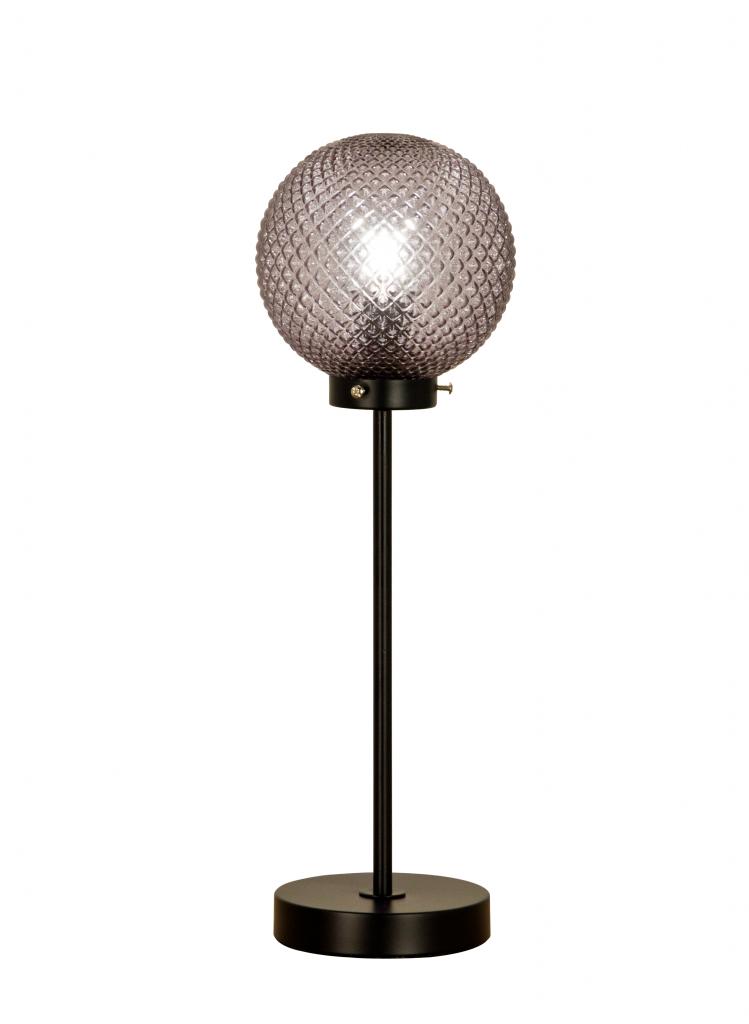Flory bordlampa lång (Svart)