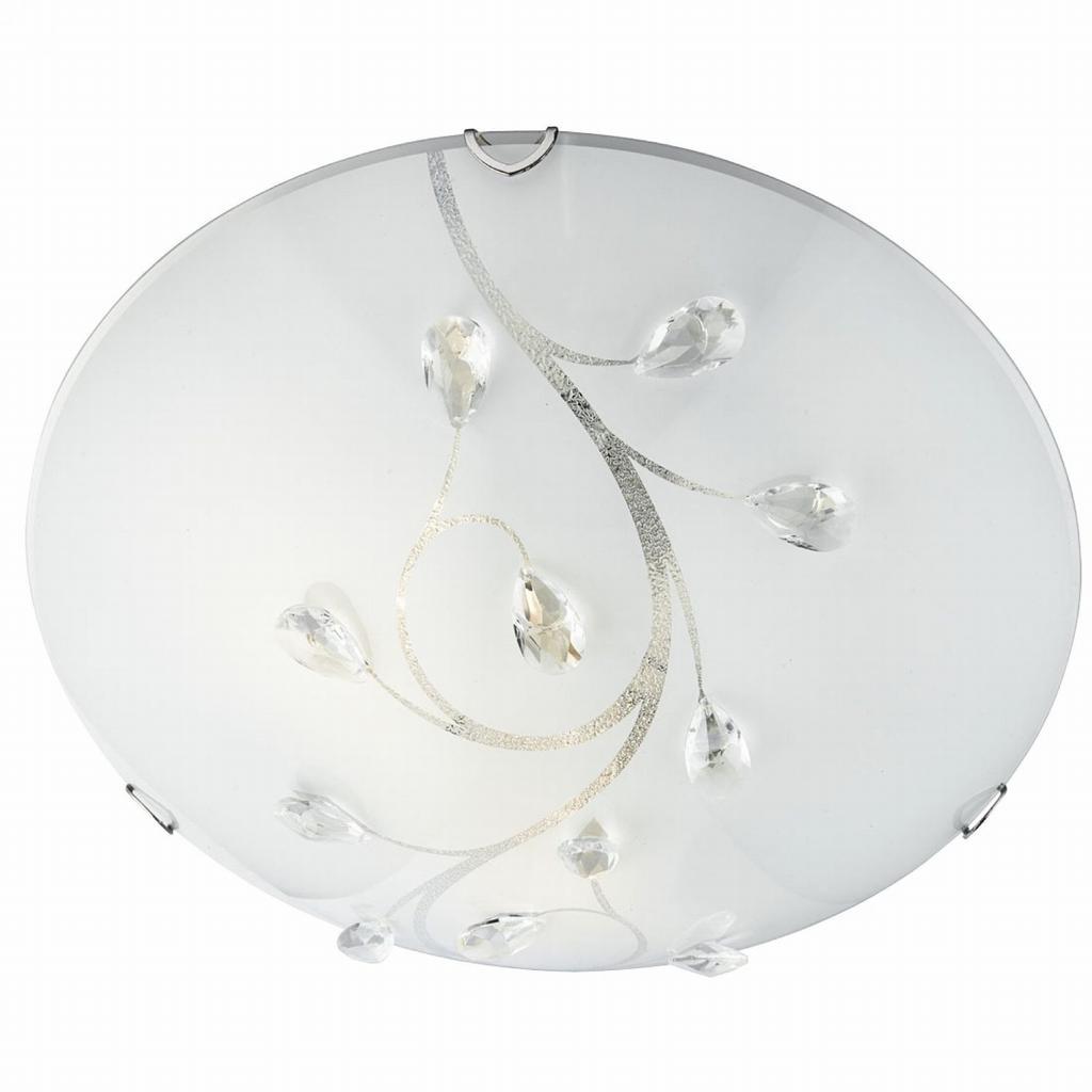 Flush plafond 40cm (Vit)