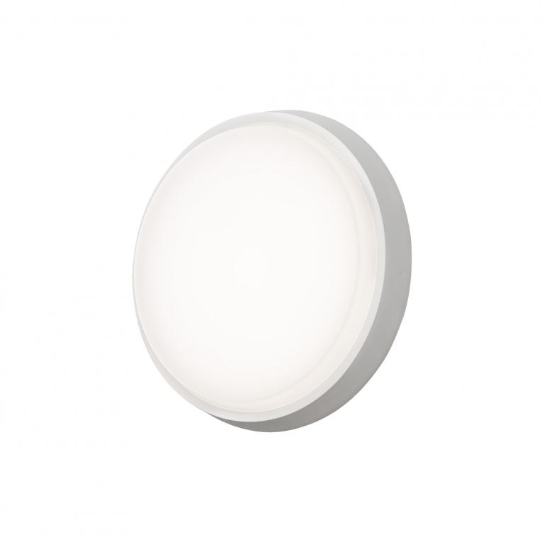 Cesena vägg/tak rund LED (Vit)