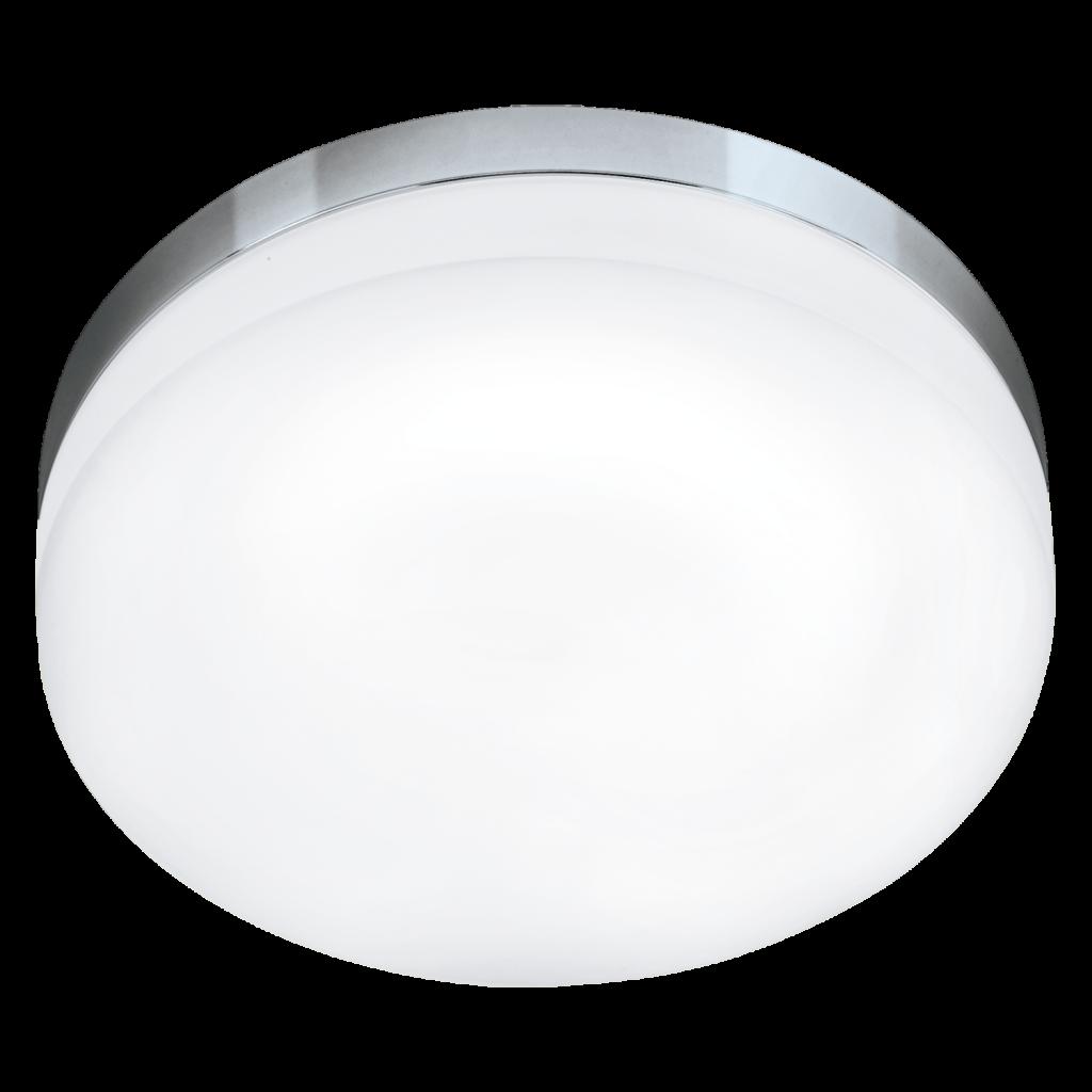 Lora LED 32cm (Förkromad/blank)