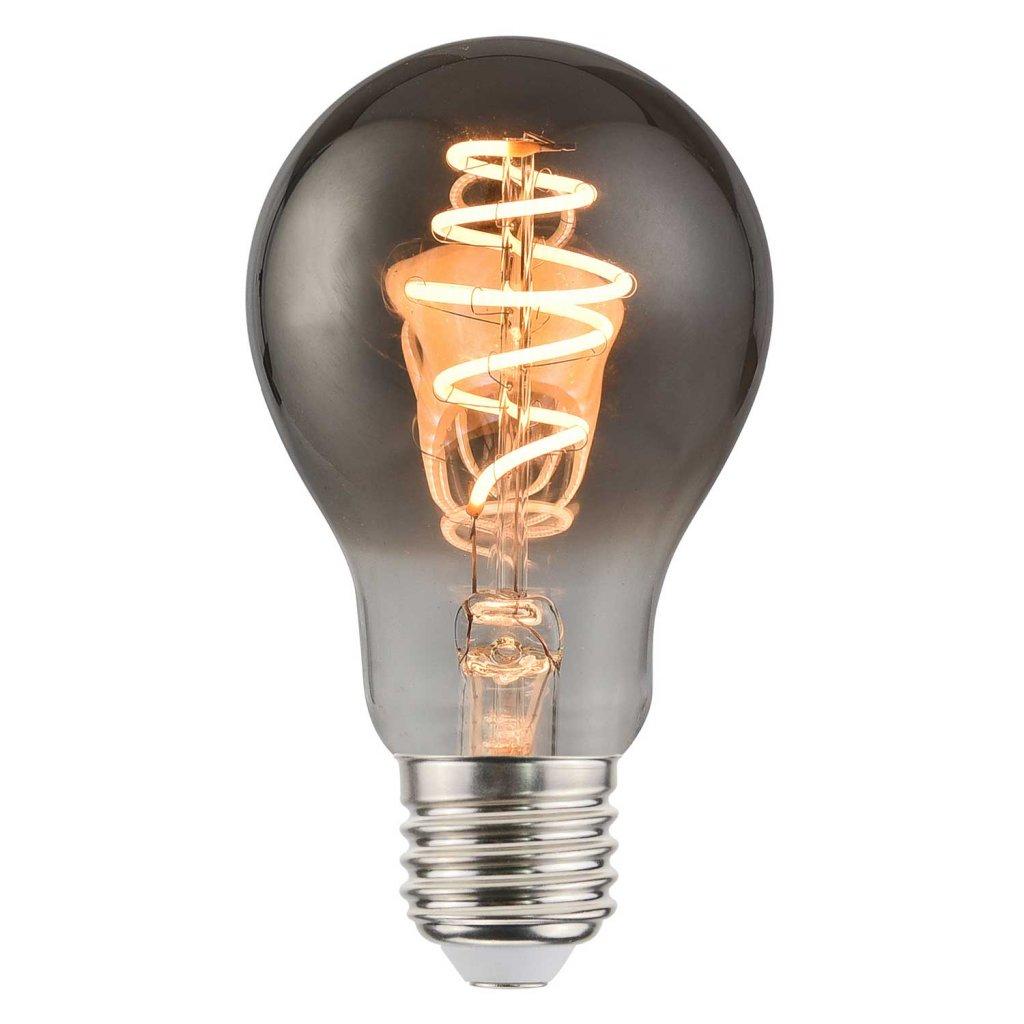 E27 95mm Glob Amber 5W dimbar LED lampor Nordlux