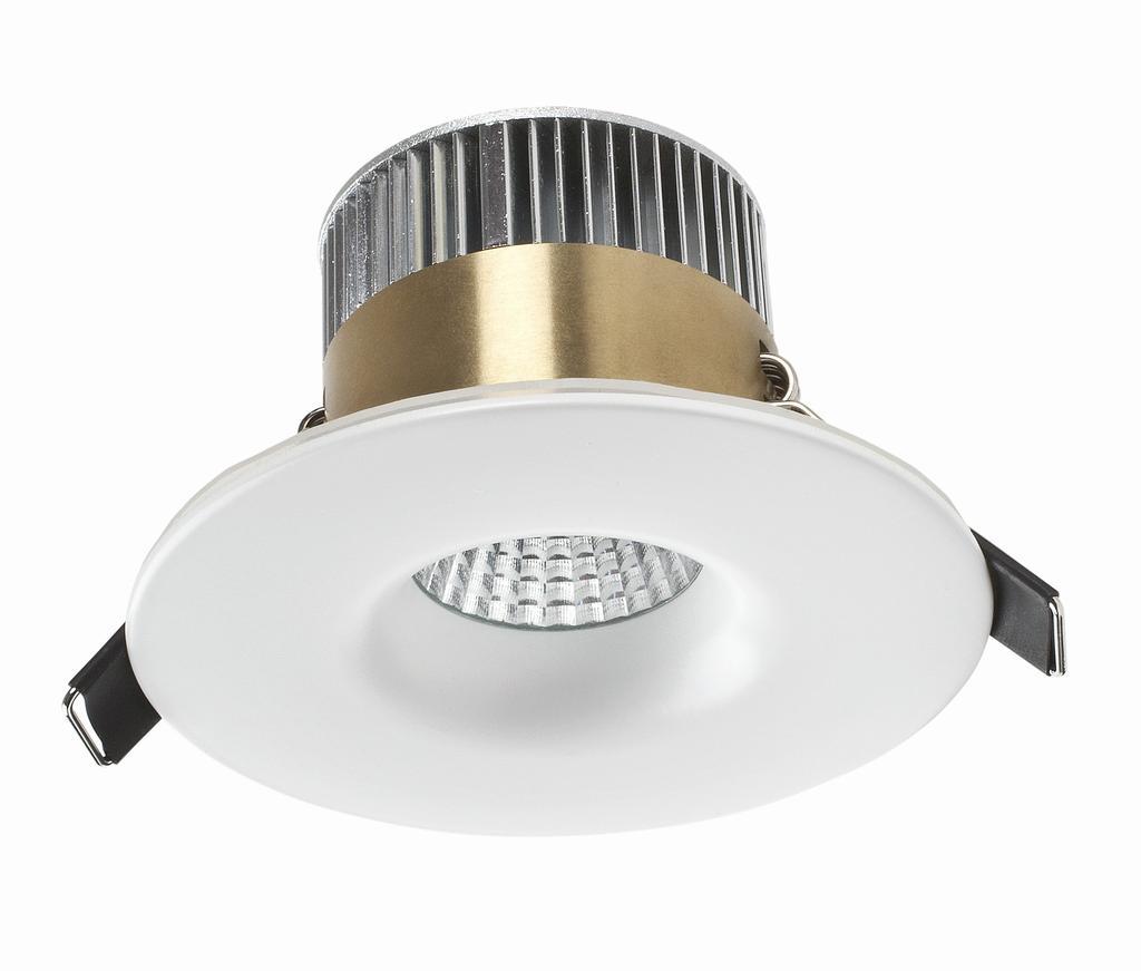 Infällda spottar (downlights) till badrum från lampgallerian.se