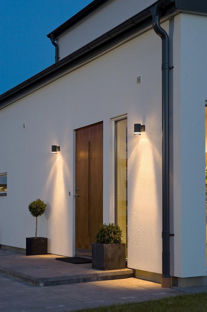 Modena Enkel Fasadbelysning Utomhusbelysning